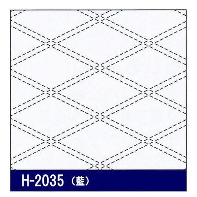 H-2035 オリムパス 花ふきん布パック 襷 (藍)