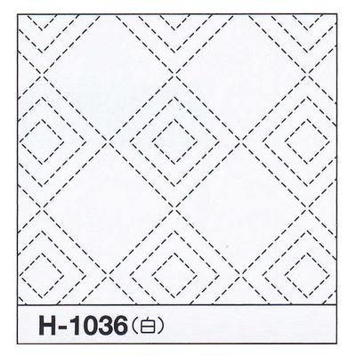H-1036 オリムパス 花ふきん布パック 立三枡 (白)