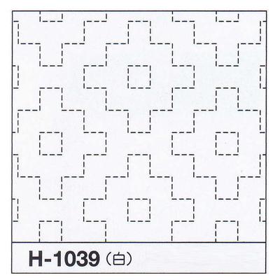 H-1039 オリムパス 花ふきん布パック 柿の花 (白)