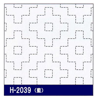 H-2039 オリムパス 花ふきん布パック 柿の花 (藍)