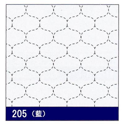 H-205 オリムパス 花ふきん布パック 干網 (藍)