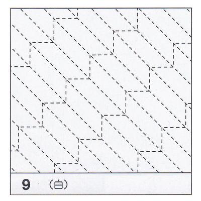 H-09 オリムパス 花ふきん布パック 矢羽根 (白)
