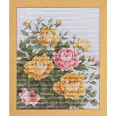 愛すべき花たち イエローローズ 刺繍キット No.7449