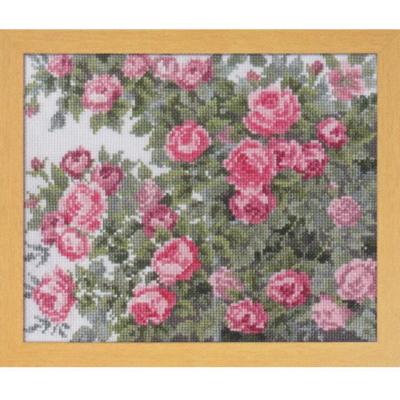 愛すべき花たち オールドローズ 刺繍キット No.7450