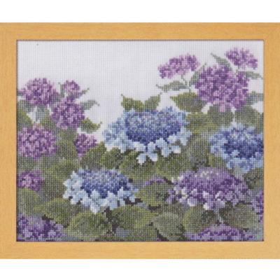 愛すべき花たち 紫陽花 刺繍キット No.7451