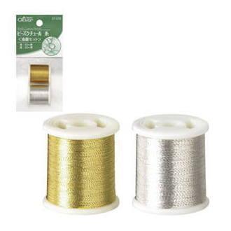 ビーズクチュール糸 金銀セット 57-576