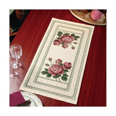 アンティークローズ テーブルセンター 刺繍キット No.1194