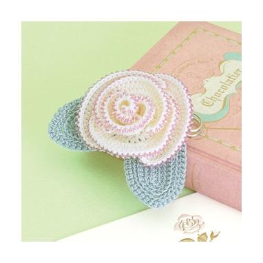 バラのコサージュ 編み物キット EG-105