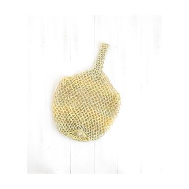 かぎ針で編むエコバッグ 黄 編み物キット SN-2
