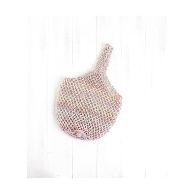 かぎ針で編むエコバッグ パステル 編み物キット SN-1