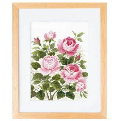 朝摘みのバラ 刺繍キット No.7181
