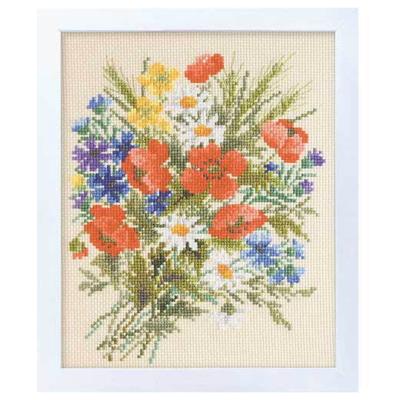 サマーポピー 刺繍キット No.7282
