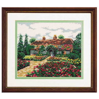 思い出の家 刺繍キット No.7011