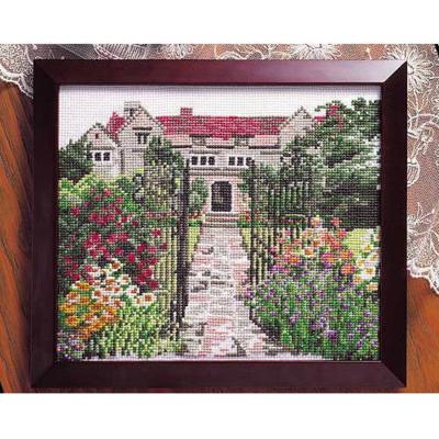 No.884 オリムパス 刺繍キット 花・風景シリーズ 英国庭園