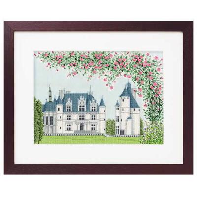 No.7213 オリムパス 刺繍キット 世界遺産と世界の風景から シュノンソー