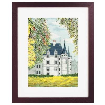 No.7209 オリムパス 刺繍キット 世界遺産と世界の風景から アゼー・ル・リドー