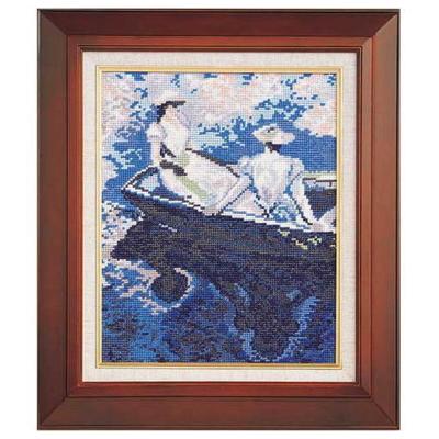舟遊び モネ作 刺繍キット No.877