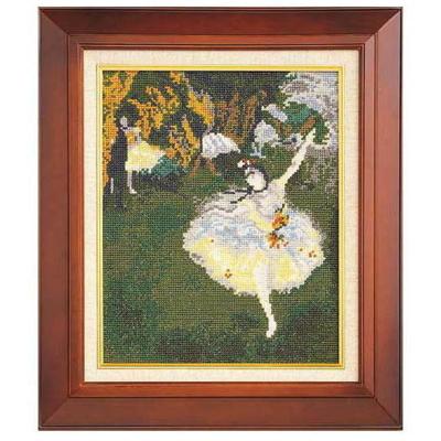 舞台の踊り子 ドガ作 刺繍キット No.876