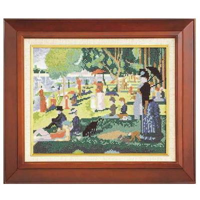 グランド・ジャット島の日曜日 スーラ作 刺繍キット No.875