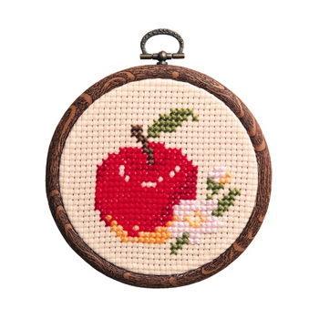 No.7327 オリムパス フルーツ&フラワー リンゴ おしゃれフープ付き
