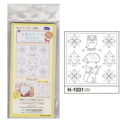フォレスト 白 花ふきん布パック H-1031