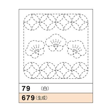 オリムパス 花ふきん布パック 梅と丸七宝