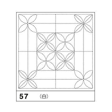 オリムパス 花ふきん布パック 花あそび 白 H-57