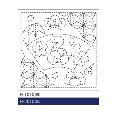 オリムパス 花ふきん布パック 巳と花菱