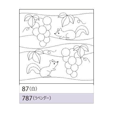 オリムパス 花ふきん布パック ぶどうとリス