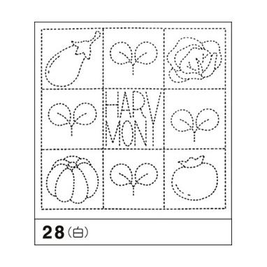 オリムパス 花ふきん布パック ハーモニー 白 花ふきん28