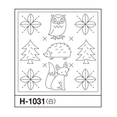 オリムパス 花ふきん布パック フォレスト 白 H-1031