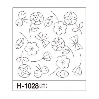 オリムパス 花ふきん布パック フラワー 白 H-1028