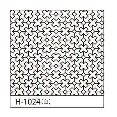 オリムパス 一目刺しの花ふきん布パック クロスつなぎ 白 H-1024