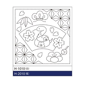 花ふきん布パック 巳と花菱
