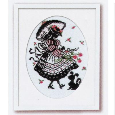 No.7453 オリムパス 刺繍キット 赤毛のアンの物語 バフスリーブのドレス