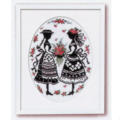 No.7455 オリムパス 刺繍キット 赤毛のアンの物語 アンとダイアナ