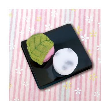 桜餅と豆大福 和菓子マグネット パッチワークキット PA-690