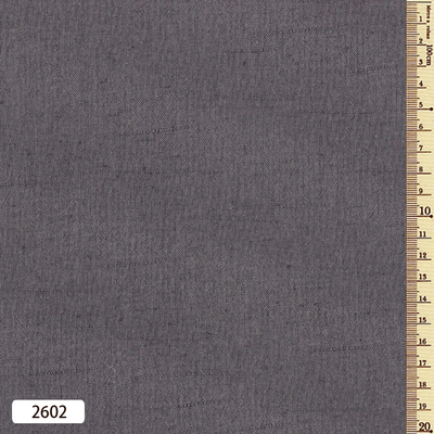 よろけ紬 反物2602 灰色 5m巻き