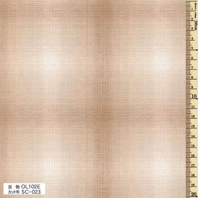 SC-023 先染木綿 カット布 グラデーションチェック 約35cm×50cm