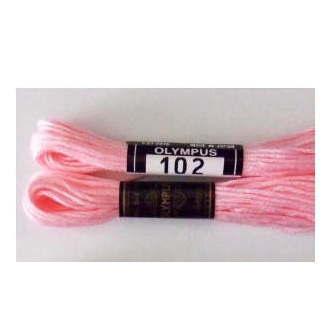 No.102 25番刺しゅう糸 単色