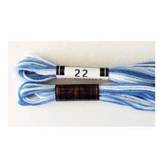 No.22 25番刺しゅう糸 ボカシ