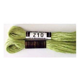 No.210 25番刺しゅう糸 単色