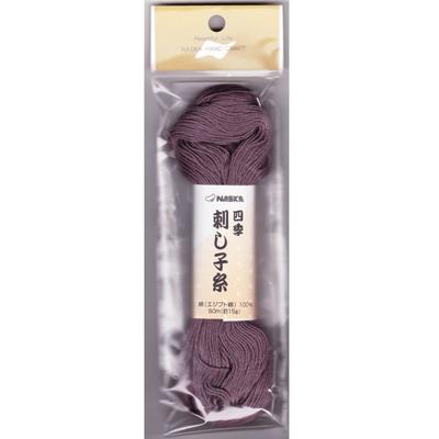 四季刺し子糸 Col.110 若紫 80m
