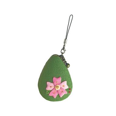 花のしずく マカロンポーチ 3月 桜 PA-650