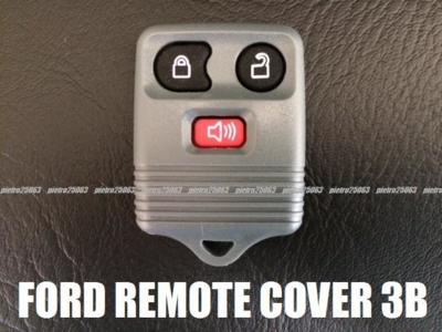 フォード リンカーン等 リモコンケース キーレスカバー 3ボタン グレー FORD/LINCOLN 交換・補修用
