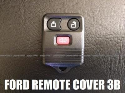 フォード リンカーン等 リモコンケース キーレスカバー 3ボタン用 FORD/LINCOLN 交換・補修用