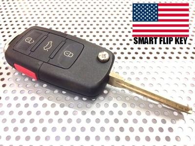 2009yフォード マスタング  ジャックナイフタイプ キー キーレス リモコン 一体型 鍵 フリップキー