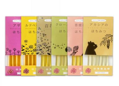 スティック蜂蜜 健康応援お得セット (2.5g×6本入x6種類)