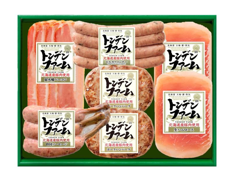 【トンデンファーム】北海道産ハンバーグ&バラエティセット