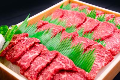 【冷凍】佐賀産和牛モモ焼肉用/(400g/送料無料)